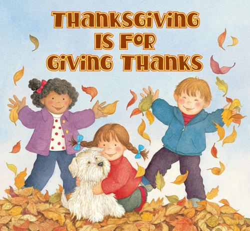 Being thankful helps us to stay positive and feel happy!