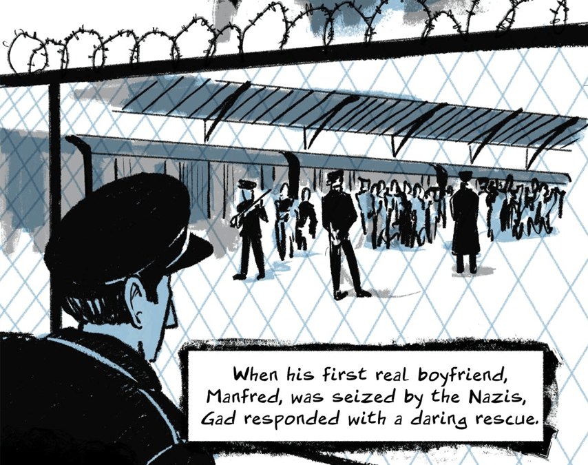 The Life of Gad Beck is one of many stories in massive queer comics anthology, Be Gay, Do Comics!