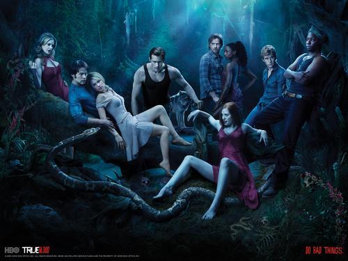 True Blood Cast © HBO