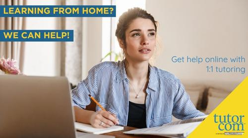 Get free, personalized academic support while your school or university is closed through Homework Help Online!