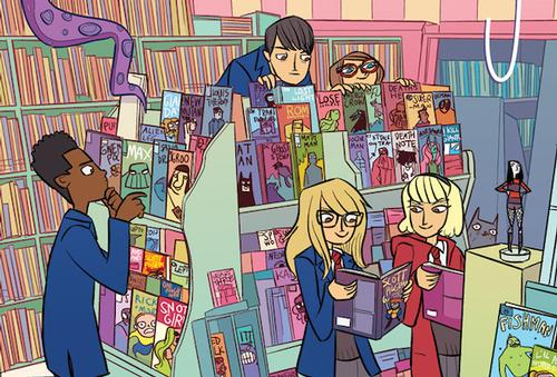 Cover for Free Comic Book Day issue of <i>Bad Machinery</i> by John Allison