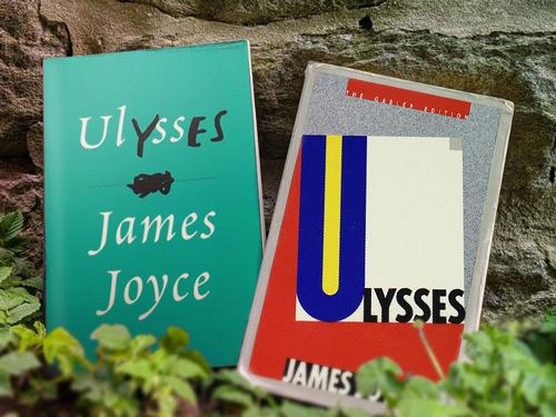 Two different copies of <i>Ulysses</i>