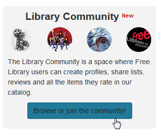 Library Community