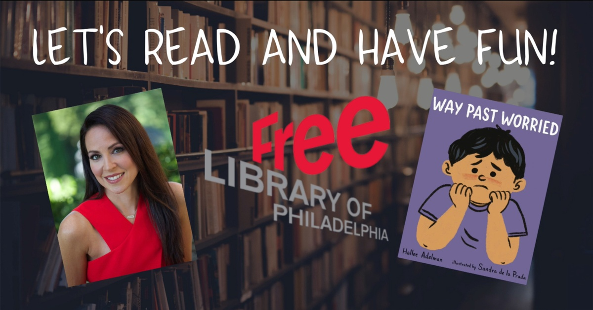 Watch an exclusive video on our YouTube channel of author Hallee Adelman reading her newest book, Way Past Worried.