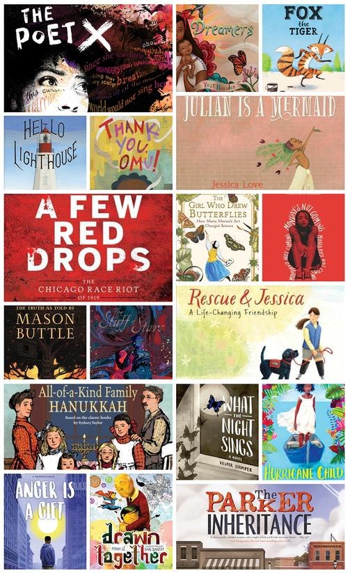 Just some of these year's Youth Media Award Winners available in our catalog.