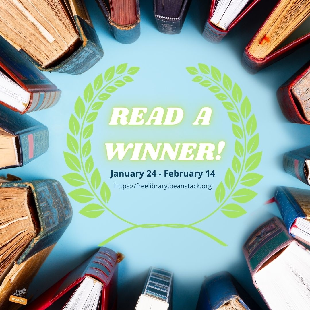 "Sign up for our new online reading mini-challenge, ""Read a Winner!"""