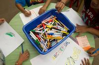 In addition to homework help, LEAP offers art and enrichment projects.