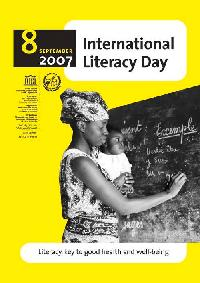 The UNESCO 2007 International Literacy Day Poster