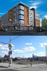 Proposed development at 27th and Girard Streets in Brewerytown section of Philadelphia.