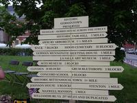 Germantown fingerpost