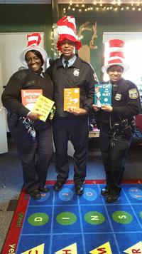 35th Police District at last year's event at David Cohen Ogontz Library.