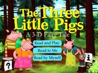 Three little options for interacting with the three little pigs