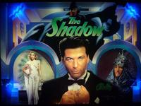 Alec Baldwin, depicted as The Shadow, on The Shadow pinball game.