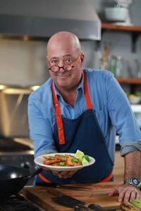 Andrew Zimmern, star of Bizarre Foods, to attend this year's gala! (Photo by Megan Kotz)