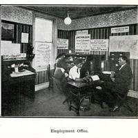 The Armstrong Employment Office (Courtesy Temple university Libraries)