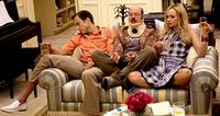 The Bluth Family binge-watching some TV faves