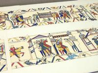Halley's Comet was seen from England in 1066, in the course of events retold in the Bayeux Tapestry and the Latin caption on this segment reads ISTI MIRANT STELLA: These people marvel at the star.