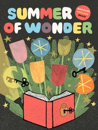Summer of Wonder official artwork by artist Greg Pizzoli.
