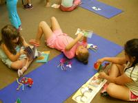 Getting ready to go back to school is fun with Camp Play and Learn.