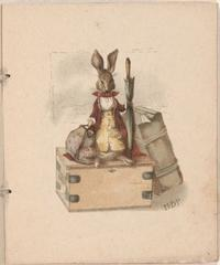 Benjamin Bunny, from A Happy Pair, 1890