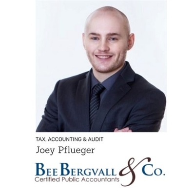 Joey Pfluger, Accountant, Bee, Bergvall & Co
