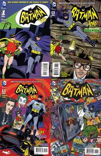 Batman '66 comic book, a series of new stories influenced by the classic television show. Artwork by MIke Allred