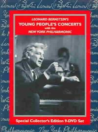 <i>Leonard Bernstein's Young People's Concerts with the New York Philharmonic</i>,originally televised between 1958-1972 and released as a dvd compilation in 1990.