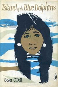 The cover of <i>Island of the Blue Dolphins</i>.