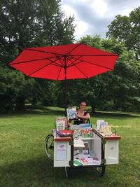 Book Bike at Bartram's Garden