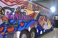 Photo from Lady Gaga's Twitter of the Born Brave Bus