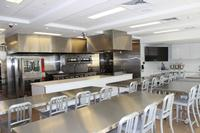 Our kitchen classroom at the Culinary Literacy Center.