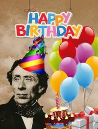 Happy Birthday Hans Christian Andersen, you magnificent weirdo!