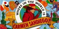 Carmen Sandiego, international villain who helped disguise academic skill-building as computer-game fun