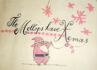 Title page from the original dummy for Christmas Eve at the Mellops' by Tomi Ungerer