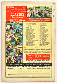 <i>Classics Illustrated</i> ad and order form, dated June 1949
