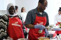 The Free Library's Culinary Literacy Center promotes literacy through cooking.