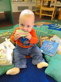 The Free Library aims to encourage a love of reading in our littlest card-holders!