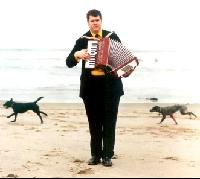 Renaissance man Daniel Handler is a sometime accordionist for the Magnetic Fields (not pictured).