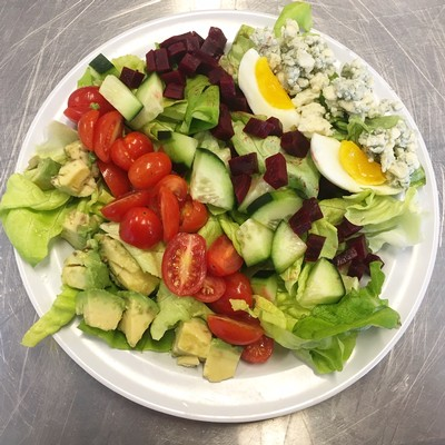 Try this vegetarian version of Cobb Salad for a healthy and hearty summer meal.