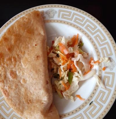 This recipe for Tacos Dorados comes from an Edible Alphabet English class participant in our Lillian Marrero Library program.