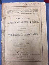 Edgar Allan Poe's signature on 1st edition of The Raven, on display in our Rare Books department