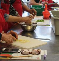 The mission of Edible Alphabet is to teach English language and literacy skills through hands-on cooking projects.