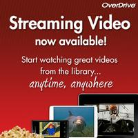 Overdrive now has movies!