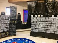 "Torresdale Library preps for ""Fairy Tale Fright,"" based on <i>Grimm's Fairy Tales</i>."