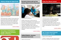 Free Library Blog Redesign