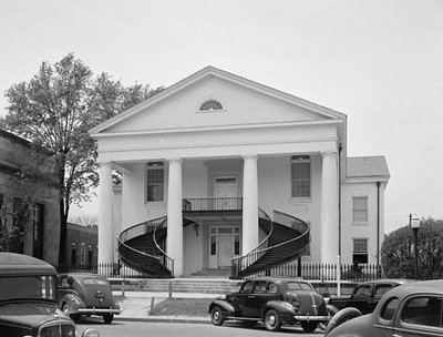 The courthouse of Fairfield County, S.C. in 1940. Perhaps Dorothy Hudson filed for her marriage license here.