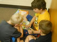 Read together or with friends. All reading counts!