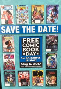 Some featured titles for this year's Free Comic Book Day