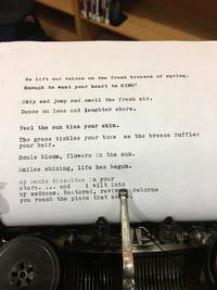 Sample of Fumo Family Library Community Poem