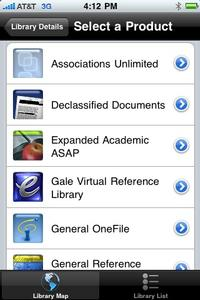 Access My Library - iPhone App